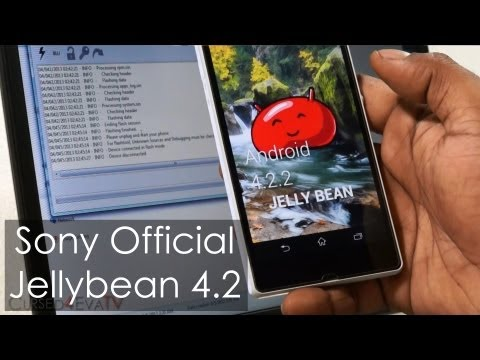 Xperia Z - Official Jelly Bean 4.2 (Firmware .423) Update - How To Flash/Install (No Loss Of Data)