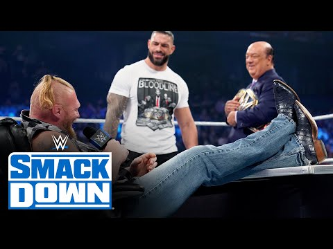 Lesnar Returns For The Universal Title Match Contract Signing With Reigns: SmackDown, Oct. 15, 2021
