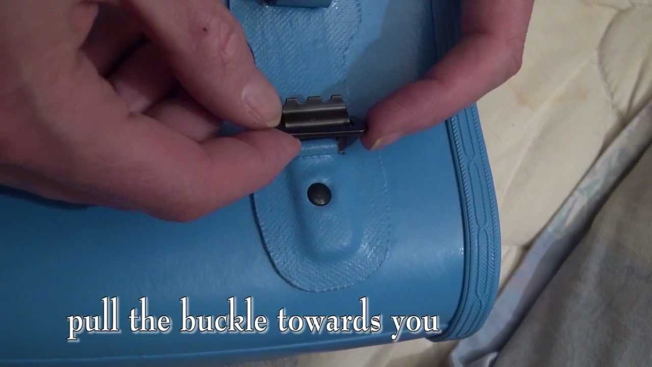 Buckle modification - Barbour Wellies