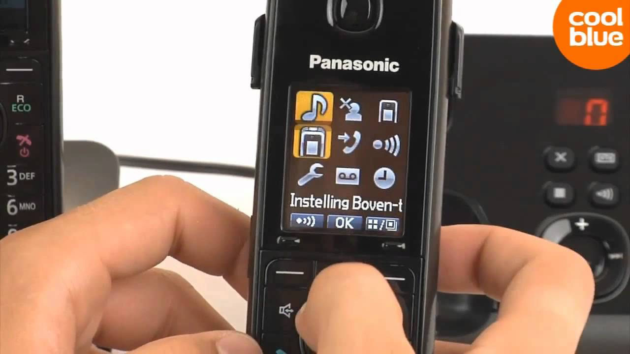 Panasonic Kx Tg8162 Review En Unboxing Nl Be Cordless Tg6811 Wireless Phone With Power Backup