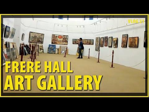 FRERE HALL KARACHI ART GALLERY: TRAVEL VLOG #19