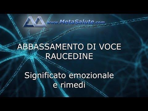MetaSalute: ABBASSAMENTO DI VOCE - RAUCEDINE - Significato e rimedi