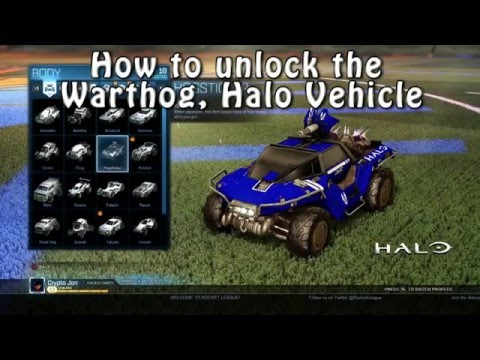 How To Get Halo Car In Rocket League