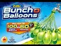 Fill 100 Water Balloons in 60 Seconds | Zuru Bunch O Balloons
