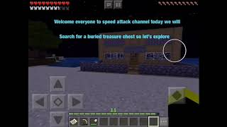 Searching a treasure chest (minecraft pe)