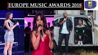 Europe MTV Awards 2018 | Camila Cabello | Best Indian Act - Big-Ri & Meba Ofilia | Shillong