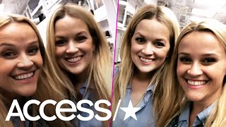 Reese Witherspoon Introduces Her Longtime Body Double & Of Course They're Total Twins | Access