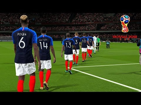 France vs Peru  Group C  FIFA World Cup Russia 21 June 2018 Gameplay
