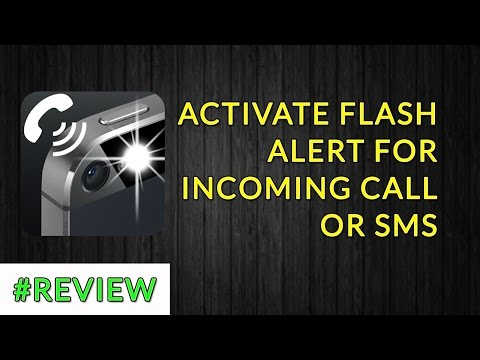 How to activate Flash Alerts For Incoming Call or SMS In Hindi | How to use flash alert