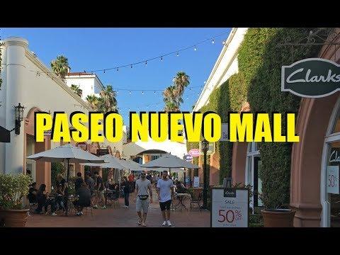 Paseo Nuevo Mall in Santa Barbara