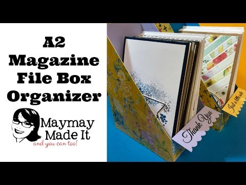 A2 Card Holder Magazine Style