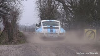 Porsche 911 T + 911 SC + 911 ST - Pure Rally Sound!