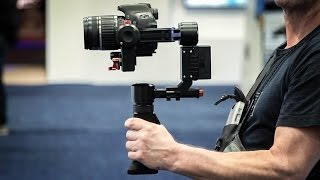 Sony a7s ii and CAME TV Optimus gimbal in action at KCCR airport