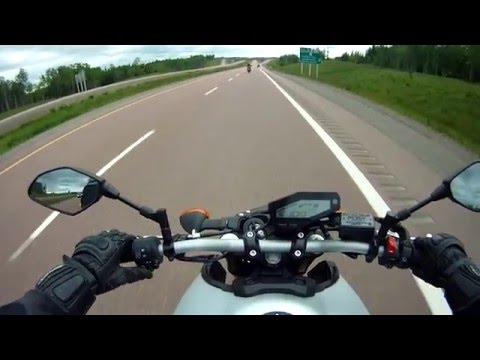 Road Testing the Yamaha MT-09 (Raw footage)
