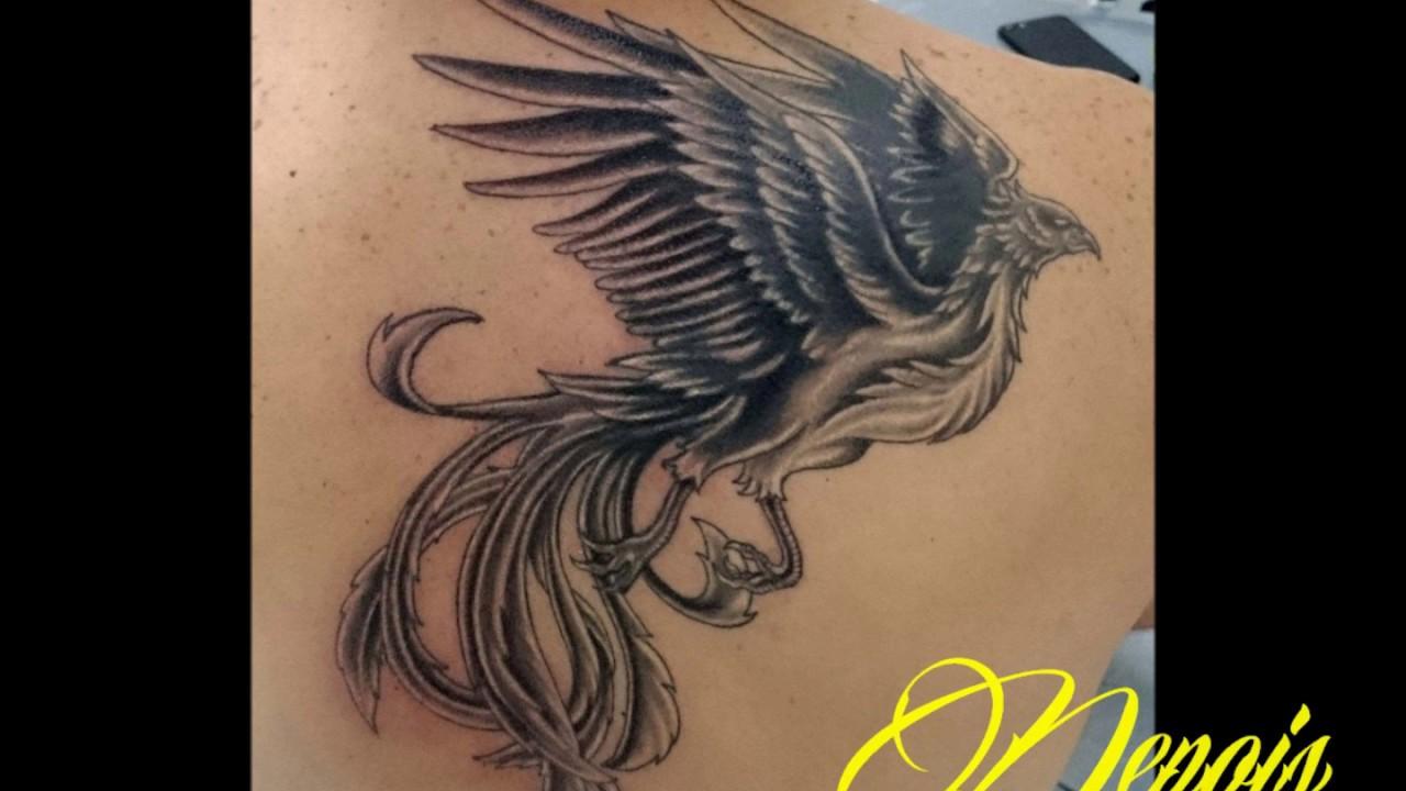 Fenix Tattoo Cover Up Youtube