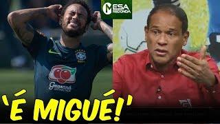 """""""É MIGUÉ DE NEYMAR!"""", diz Müller sobre contusão (09/06/2019)"""