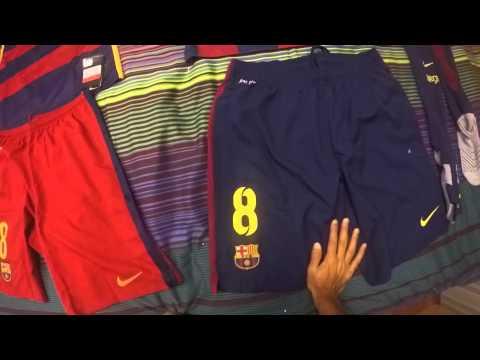 FC Barcelona 2015 vs 2016 Kits!