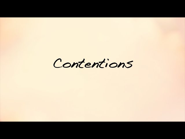 Contentions : Women of God's Word