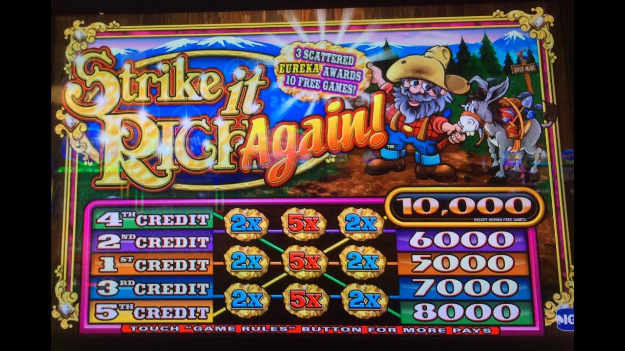 Strike It Rich Free Slots