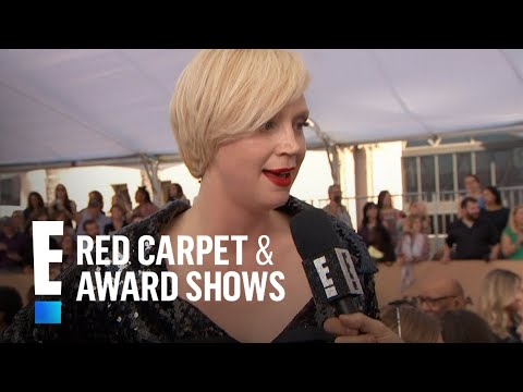 Gwendoline Christie Stuns in Vivienne Westwood Jumpsuit | E! Live from the Red Carpet