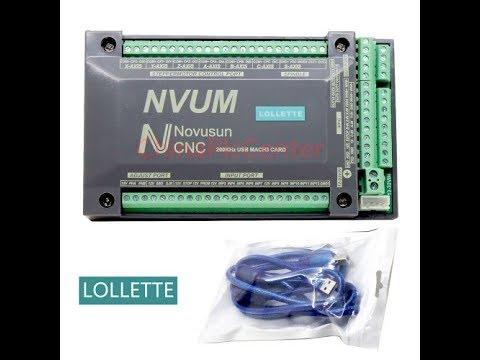 NVUM slave axis Novusun cnc controller