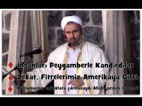 Diyarbakır ulu camii imam hatibi M. Sait hocanın 19.*8.2016 Tarihli Mükemmel Cuma Hutbesi