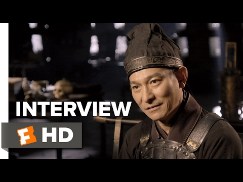 The Great Wall Interview - Andy Lau (2017) - Action Movie