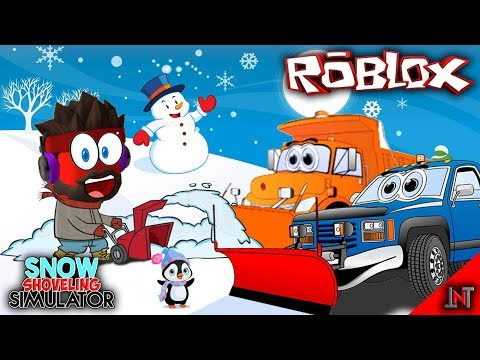 ROBLOX indonesia #80 Snow Shoveling Simulator   Update Pets Sambil Borong Truck Salju