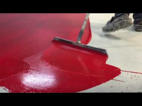 How to do a Red Epoxy Floor