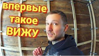 КАРКАС ДЛЯ ГИПСОКАРТОНА ГОТОВ ремонт в деревянном доме