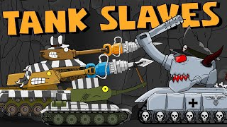Prisoners of the King - Cartoons about tanks
