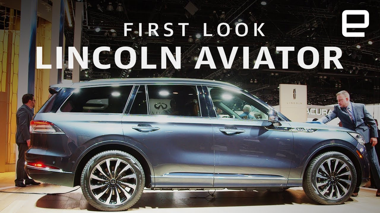 Lincoln Motor Company >> 2020 Lincoln Aviator First Look: A kneeling SUV - YouTube