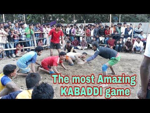 Kabaddi game of Assam rural area. Kabaddi sports.