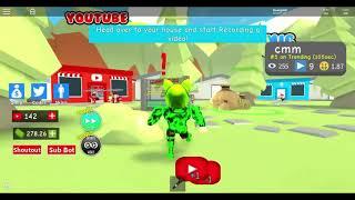 Roblox | Ước mơ làm youtuber của tui trong game roblox | Rim