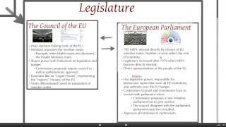 The European Union: Political system