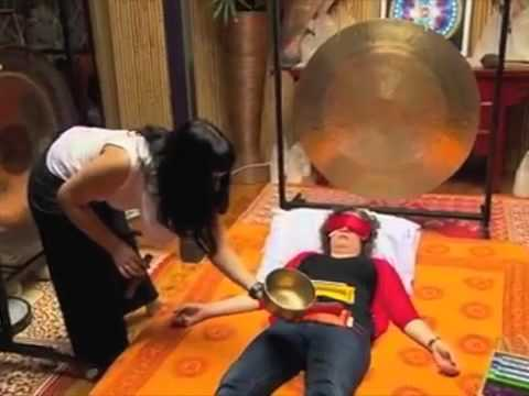 Nowwow  Healing Hertz gongs and sound healing with Judith Lucy for theABC.mov
