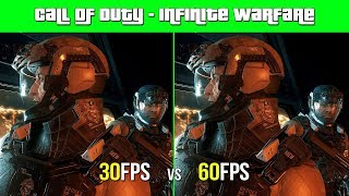 30FPS vs 60FPS In Call of Duty - Infinite Warfare