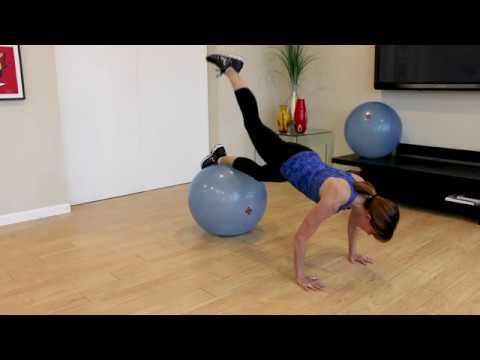 BOSU® Ballast® Ball Core Workout with Master Trainer Mindy Mylrea