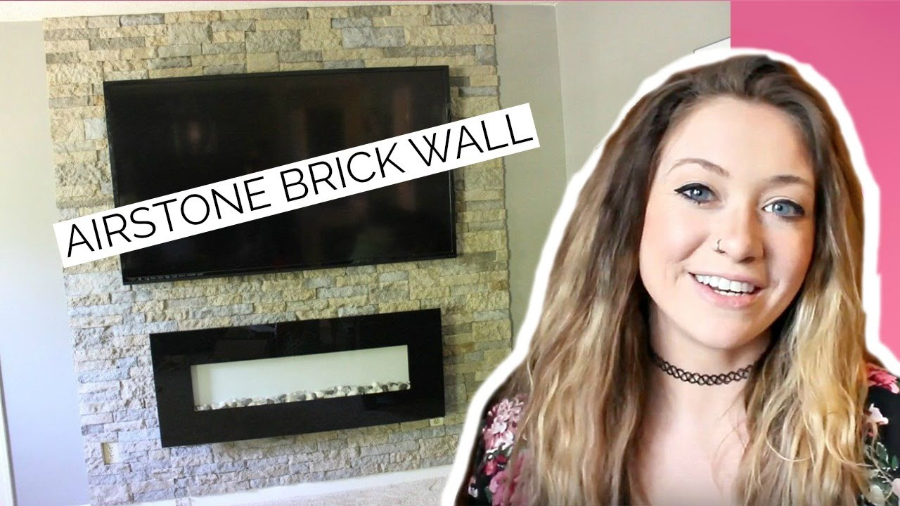Diy Easy Veneer Stone Accent Wall Airstone Brick Wall