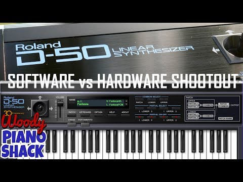 Roland D50 VST software versus hardware shootout | Roland Cloud Legendary Series