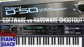 Roland D50 VST software versus hardware shootout | Roland Cloud Legendary Series