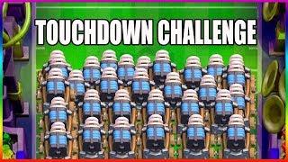 LECIMY TOUCHDOWN CHALLENGE! CLASH ROYALE - Na żywo