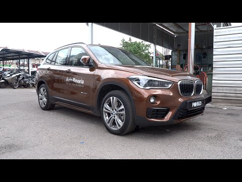 2016 BMW X1 sDrive20i Start-Up and Full Vehicle Tour