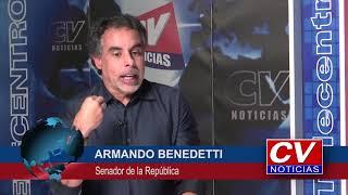 Jorge Cura entrevista al Senador Armando Benedetti
