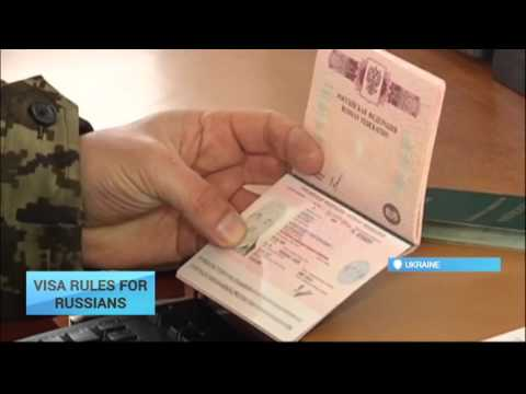 Ukraine Mulls New Visa Rules for Russians: New visa regime could be launched next year