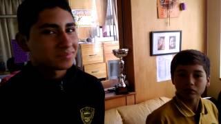 Atletas del liceo Rodulfo Amando Philippi Paillaco