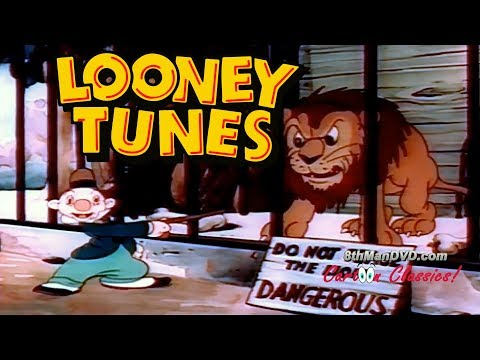 LOONEY TUNES (Looney Toons): A Day at the Zoo (1939) (Remastered) (HD 1080p)