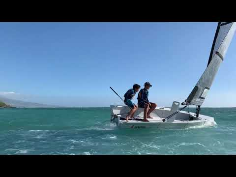 Small Sailboat Reverso Air - Fast and furious sailing in Indian Ocean, Med and Atlantic