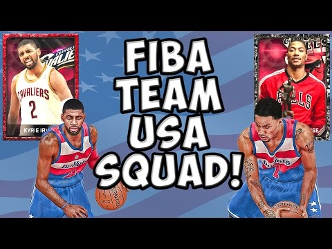 Team USA FIBA Squad! - NBA 2K15 MyTeam - Onyx D-Rose and Ruby Kyrie Irving! Early Independence Day!