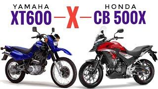 Yamaha XT600 versus Honda CB 500X